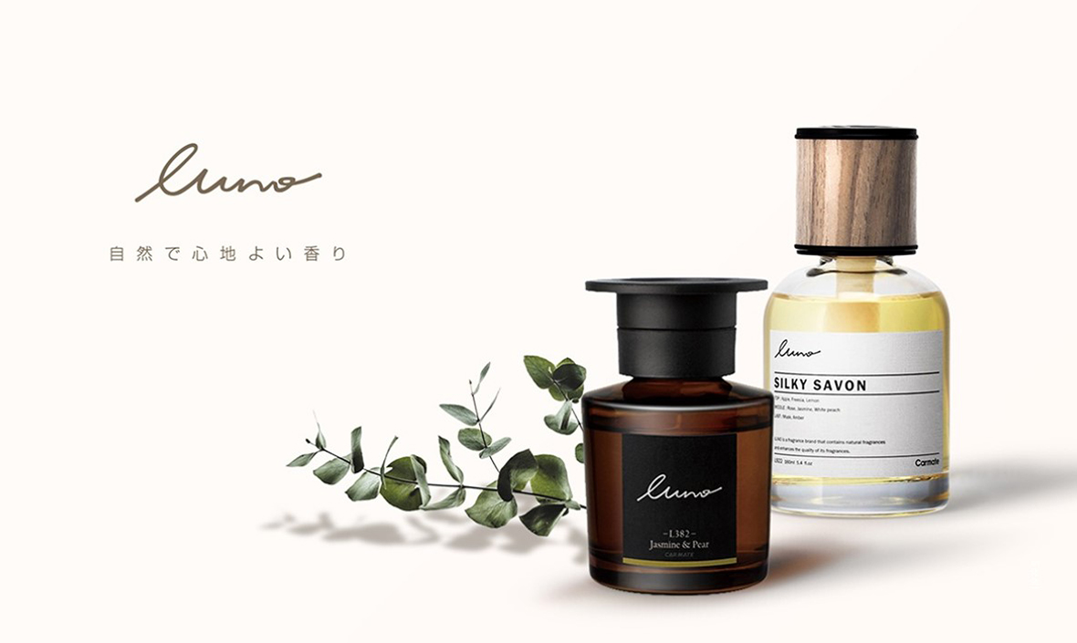 カーメイト 芳香剤ブランド「luno(ルーノ)全ラインアップです