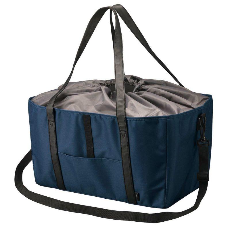 カーメイト DZ545 ショッピングバッグ ネイビー エコバッグ 買い物バッグ カゴバッグ carmate