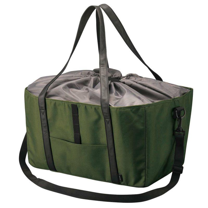 カーメイト DZ546 ショッピングバッグ オリーブグリーン エコバッグ 買い物バッグ カゴバッグ carmate